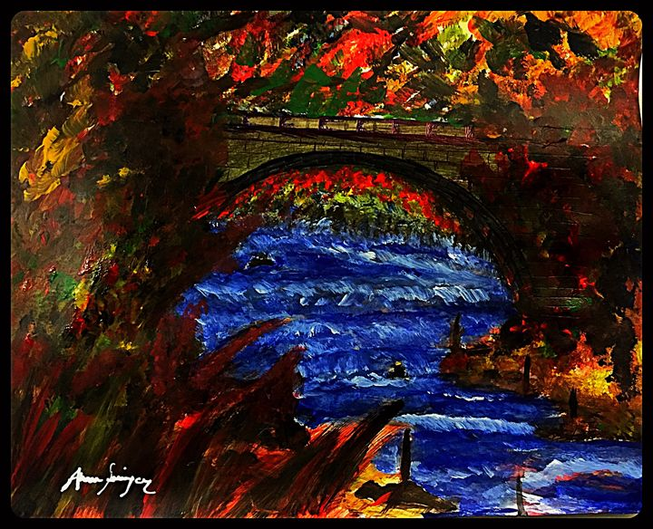 !!!...Nature You Make Us Beauty...!! - Abrar's Painting