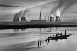 """Fiddlers Ferry in Mono"""