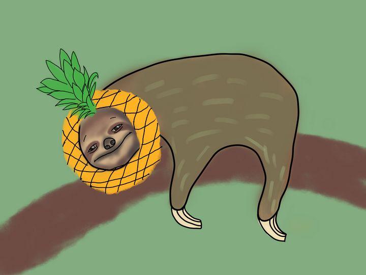 Sloth - Abiding Pushpin