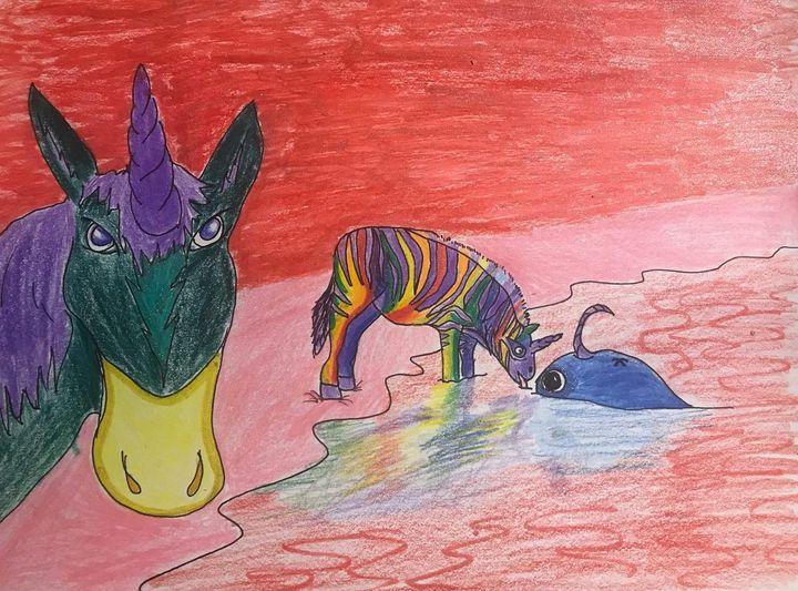 Magical Zebracorn - Abiding Pushpin
