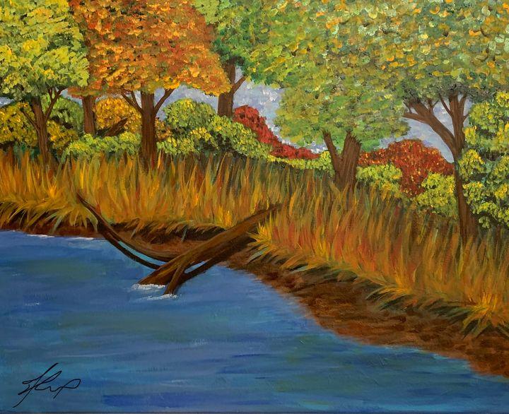 Painted earth - Alexander Matthew Goodner