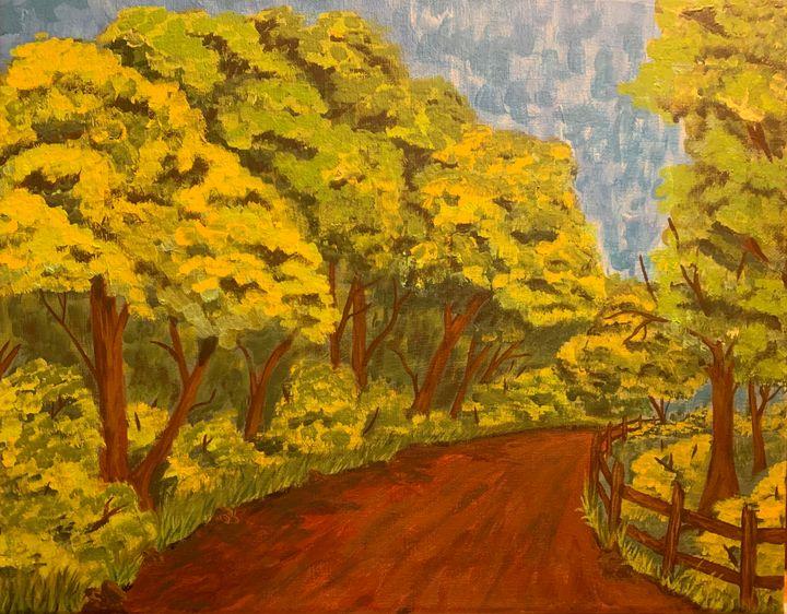 Old Alabama road - Alexander Matthew Goodner