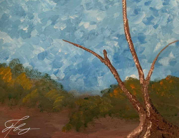 Lonely tree - Alexander Matthew Goodner