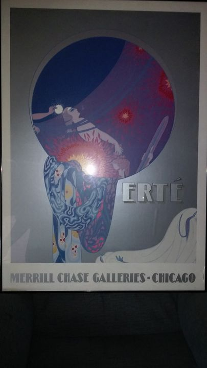 Ertè Merrill Chase Galleries Framed Print Art Deco