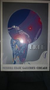 Erte Merrill Chase Galleries-Chicago