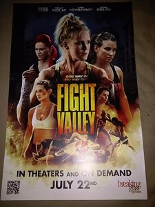 Fight Valley 2016 Movie Poster