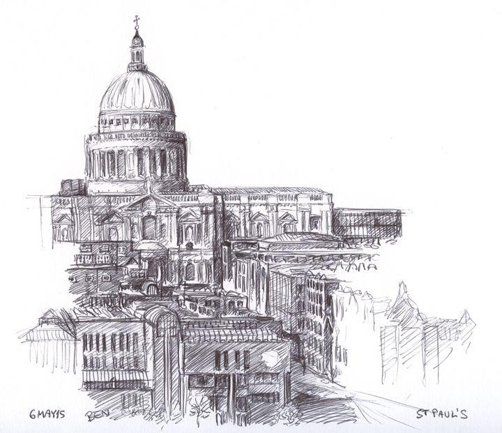 St Paul's - SketchLondon