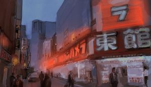 Yodobashi west side Shinjuku