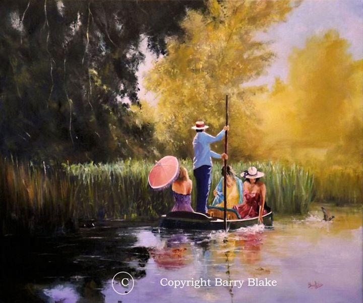 SUMMER PUNTING - Barry Blake