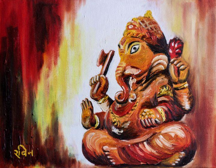 Lord Ganesha - Ravin Kumar