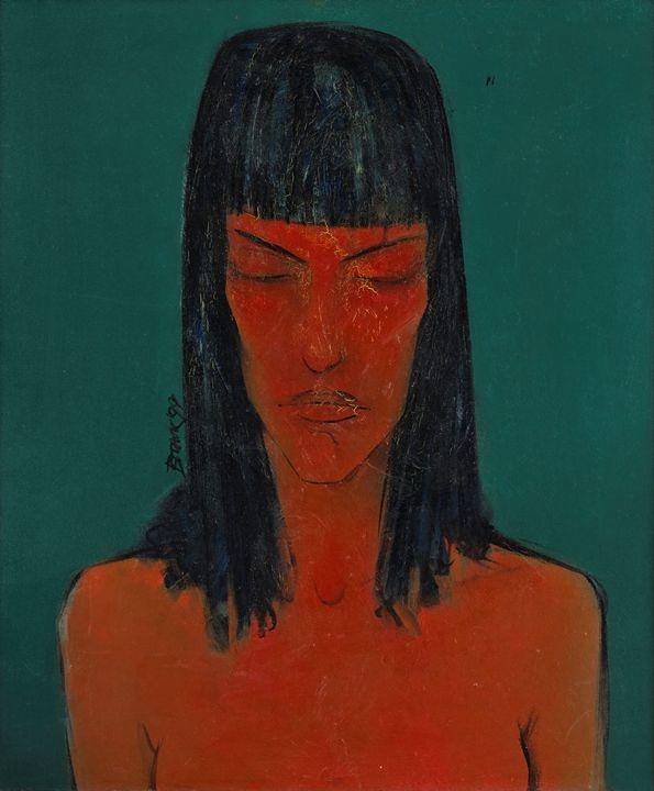 Red girl / OM - Vladimir Paskalev