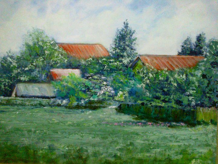 backyard - Ecaterina's Work