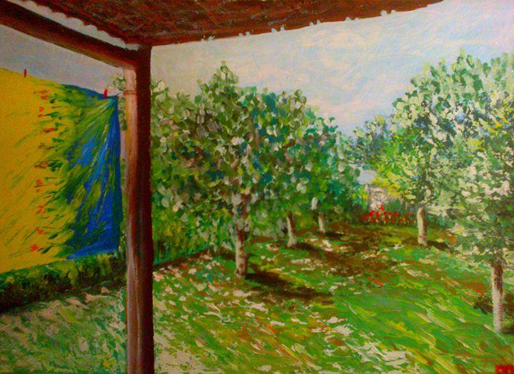 back yard - Ecaterina's Work