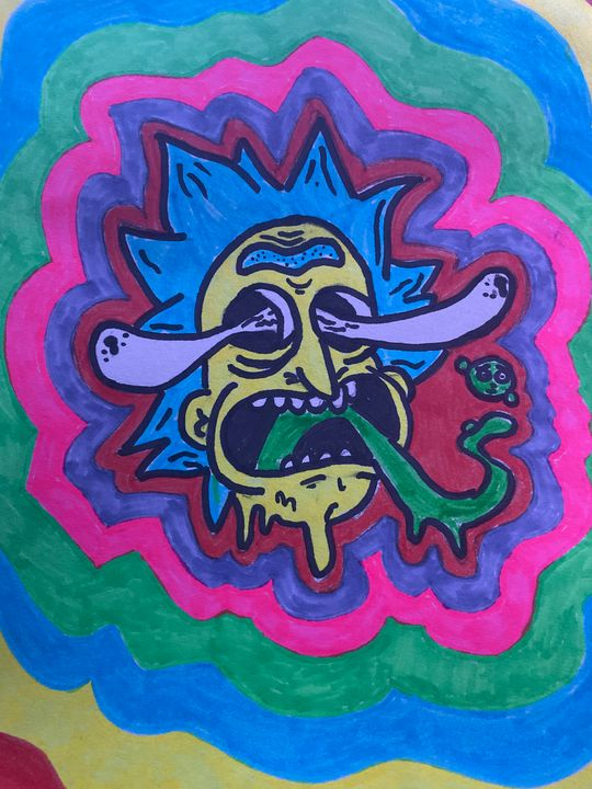 Trippy Artwork - Samantha