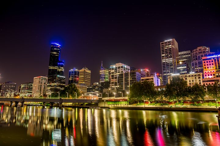 Across Yarra to Melbourne - Eddy West Photography