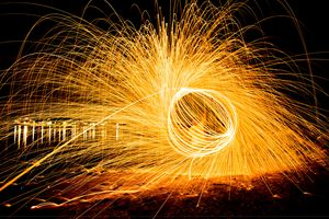 Fire Spinning Williamstown