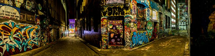 Melbourne Lane Graffiti - Eddy West Photography