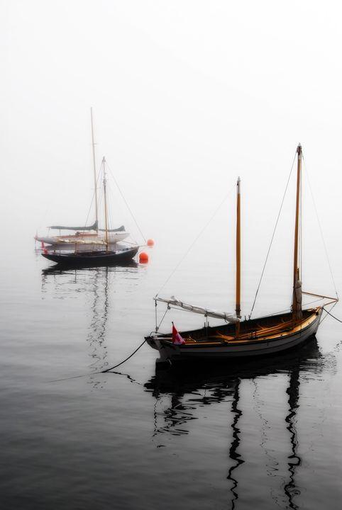 Foggy Boats - MaryLanePhotography