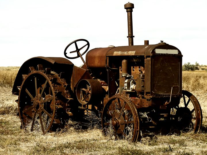 Old Tractor - MaryLanePhotography
