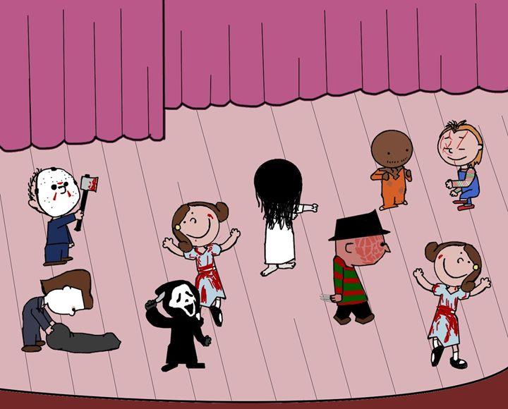 Horror Peanuts - Joseph O'Neil