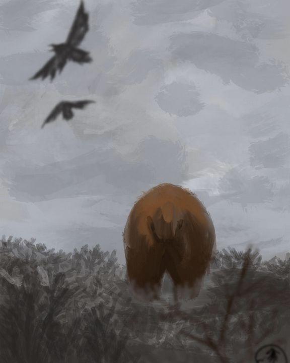 Backside - wwildinkk art