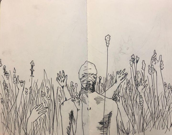 Reeds - wwildinkk art