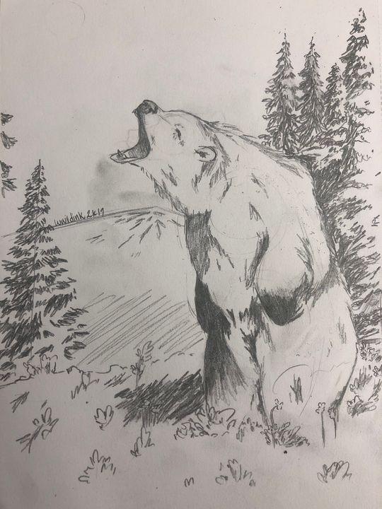 Roar - wwildinkk art