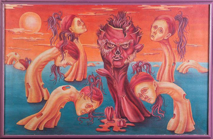 Totalitarism - Oleg Zaharchuk Syrrealist