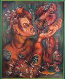 Art Oil on canvas