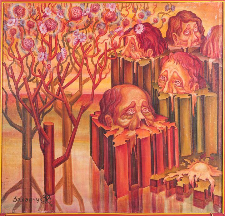 Rebirth - Oleg Zaharchuk Syrrealist