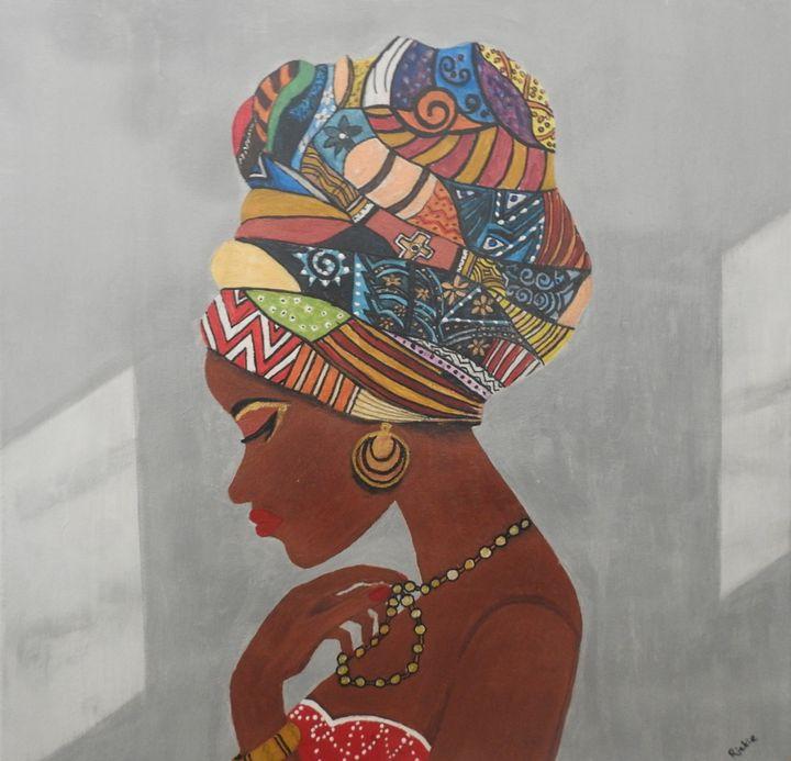 African beauty - Riqipix and Art