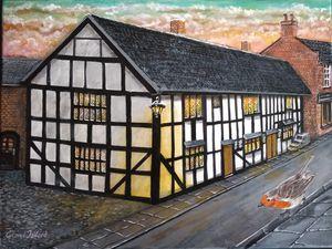 Widows Almshouses [  Cheshire Cat ] - george telford
