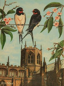 Swallows at the Church