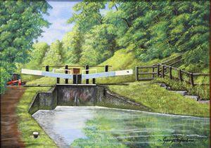 Audlem  Canal [Lock  15]