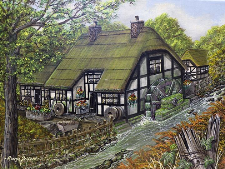 The Old Mill - george telford