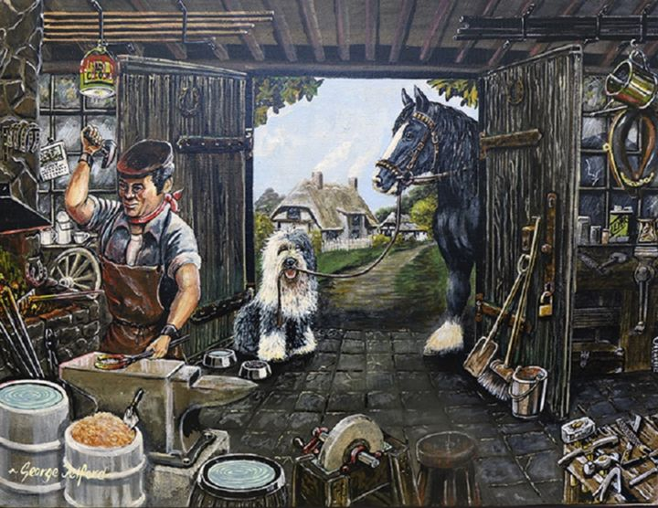 The Village Blacksmith - george telford