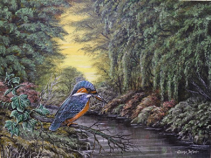 The Kingfisher - george telford