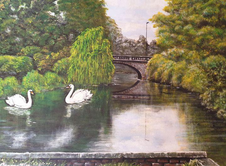 River Weaver , Waterlode , Nantwich - george telford