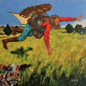 D.B. Henning's Flight Over Rothsay