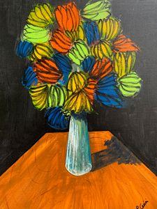 Flowers on table - Casini Gallery