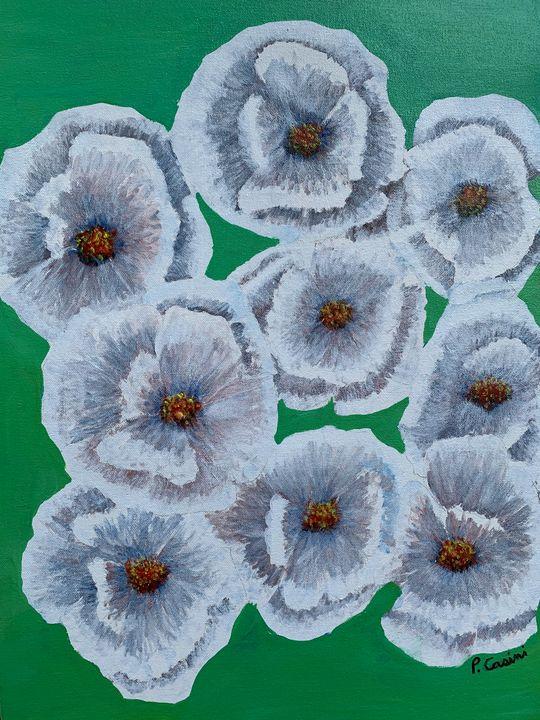 Lotus Flowers in dirty water - Casini Gallery