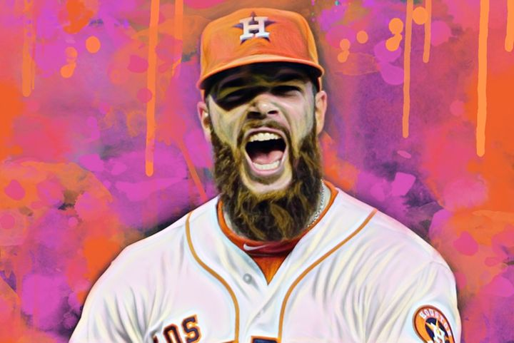 Dallas Keuchel(Color Series 3) - Pop Visuals