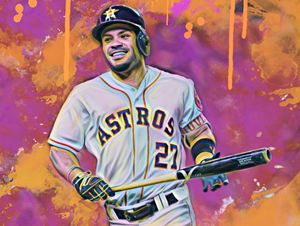 Jose Altuve(Color Series 3)