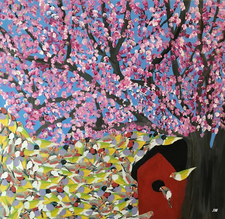 Birds of a Feather - Art Studio 99