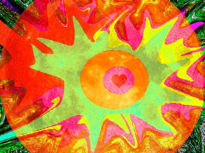Exploding Heart - Art Studio 99
