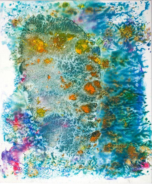 Genie des eaux jo pakal paintings prints abstract other abstract artpal for Genie des eaux
