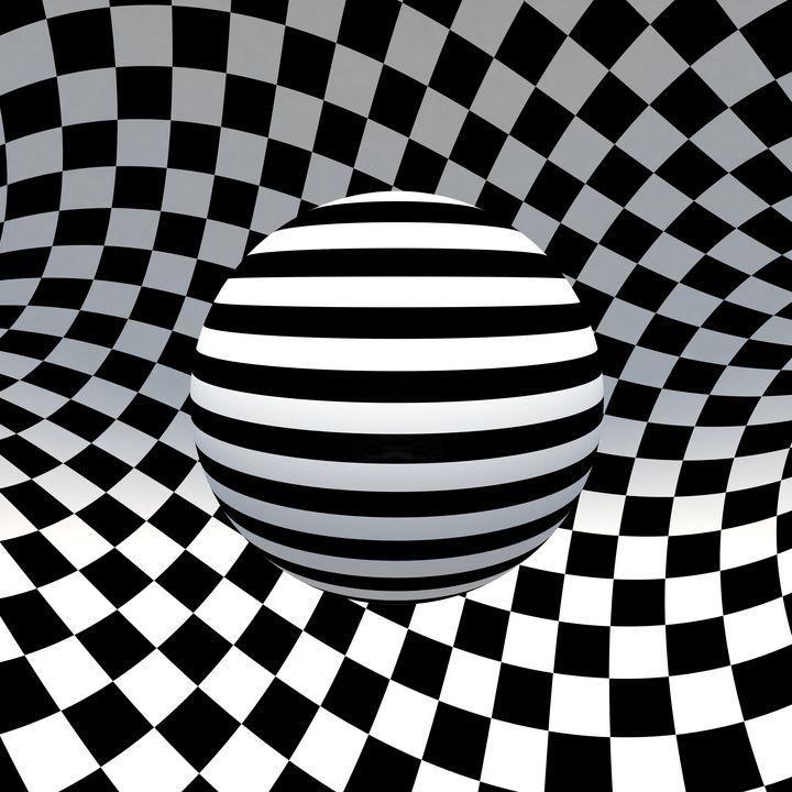 Sphere and plane - Pimentel