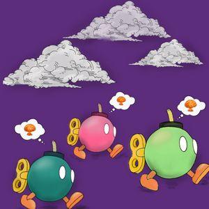 Three ticking bombs
