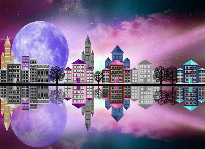 Purple Moon - Peggy Garr