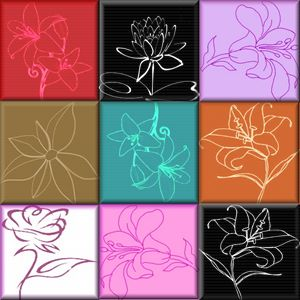 Abstract Lilys